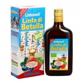 """Linfa di Betulla """"Linfasnell"""" gusto Frutti di Bosco"""
