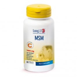 Msm 1000Mg - Metil Sulfonimetano