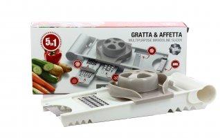 Accessorio da Cucina Gratta & Affetta - Mandolina 5 in 1
