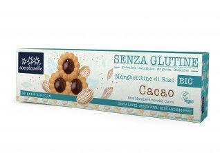 Margheritine di Riso al Cacao - Senza Glutine