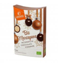 Marzapane Bio Ricoperto di Cioccolato Fondente