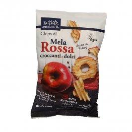 Chips di Mela Rossa Croccanti e Dolci