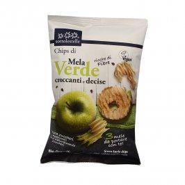 Chips di Mela Verde Croccanti e Decise