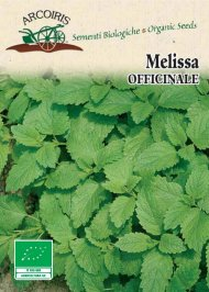 Semi di Melissa Officinale - 3 Gr