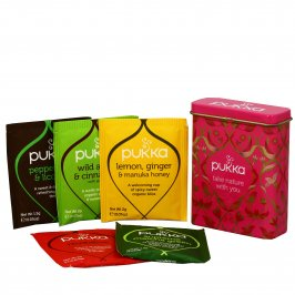 "Tisane Bio in Mini Cofanetto Latta ""Love Travel Sachet Tin"""
