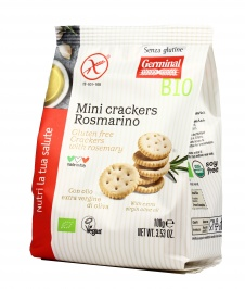 Mini Crackers Rosmarino - Senza Glutine