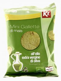 Mini Gallette di Mais all'Olio Extravergine di Oliva