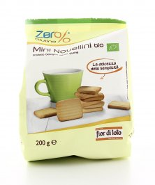 Biscotti Mini Novellini Bio - Zero Glutine