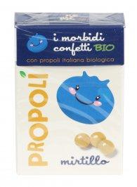 Morbidi Confetti Bio con Propoli al Mirtillo