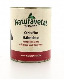 Canis Plus Menu Completo - Pollo con Miglio e Carota