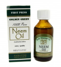 Neem Oil Golden Green - 100 ml.