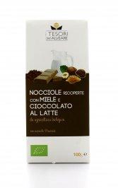 Nocciole Bio con Miele e Cioccolato al Latte