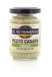 Pesto Canapa e Basilico Biologico