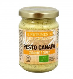 Pesto Canapa Zucchine e Curry Biologici