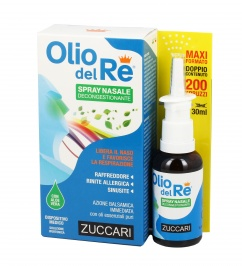Spray Nasale Decongestionante - Olio Del Re