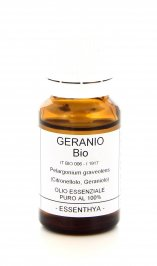 Geranio Bio - Olio Essenziale Puro