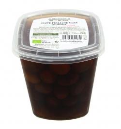Olive Italiane Nere in Salamoia