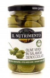 Olive Verdi Italiane Denocciolate in Salamoia