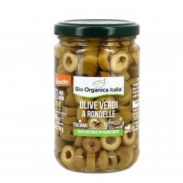 Olive Verdi a Rondelle Biologiche
