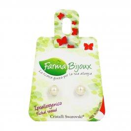 Orecchini a Perla Cream (6 mm)