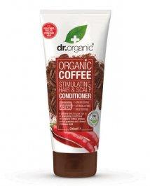 BALSAMO CAPELLI STIMOLANTE AL CAFFè - ORGANIC COFFEE Arricchito con guaranà, peperoncino, vitamina B3 e B5 di Dr. Organic