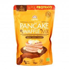 Preparato Pancake e Waffle Mix con Banana, Canapa e Cannella - Senza Glutine