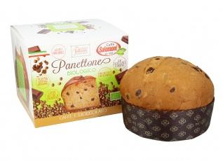 Panettone Bio con Caffè e Gocce di Cioccolato