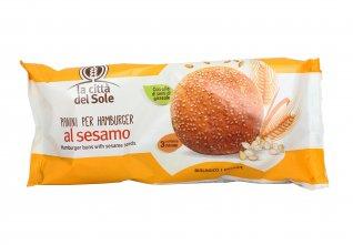 Panini per Hamburger al Sesamo Bio