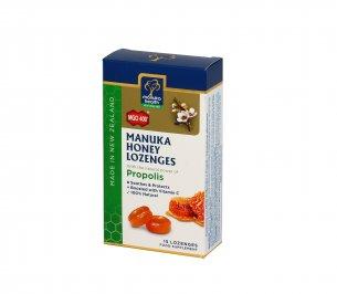 Caramelle con Miele di Manuka MGO™400+ e Propoli BIO30™