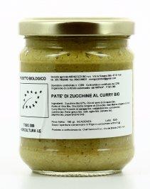 Patè di Zucchine al Curry Bio