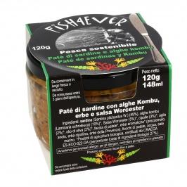 Patè di Sardine e Alghe Kombu
