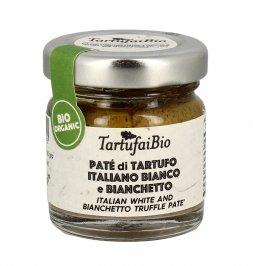 Patè di Tartufo Italiano Bianco e Bianchetto