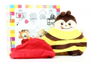 Cuscino Peluche Riscaldabile - Cherry Belly Ape