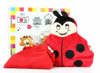 Cuscino Peluche Riscaldabile - Cherry Belly Coccinella