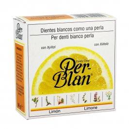"""Dentifricio in Polvere """"Perblanc"""" gusto Limone"""
