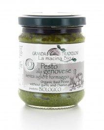 Pesto alla Genovese Bio senza Aglio e Formaggio 180 gr.
