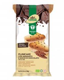 Plumcake con Amaranto con Gocce di Cioccolato