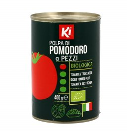 Polpa di Pomodoro in Pezzetti Bio