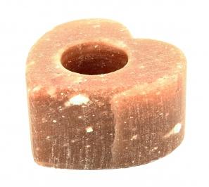 Portalumino in Sale Rosa - Cuore