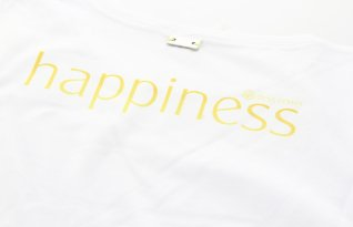 Dress Power T-Shirt Happiness Donna