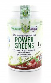Power Greens - Proteina + Superfood - Fragola