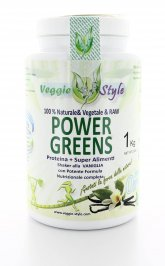 Power Greens - Proteina + Superfood - Vaniglia
