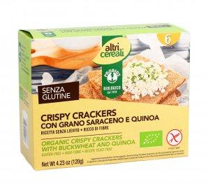Altri Cereali - Crispy Crackers con Grano Saraceno e Quinoa