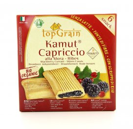 Capriccio KAMUT® - grano khorasan alla Mora e Ribes - Top Grain