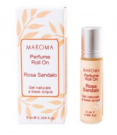 Profumo Roll On - Rosa e Sandalo