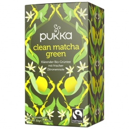 Tisana Pukka - Clean Matcha Green