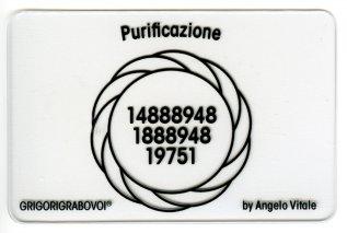 Tessera Radionica 79 - Purificazione