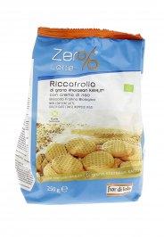 Biscotti Riccafrolla KAMUT® - grano khorasan con Crema di Riso Bio - Zero Latte