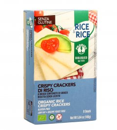 Rice & Rice - Crispy Crackers di Riso