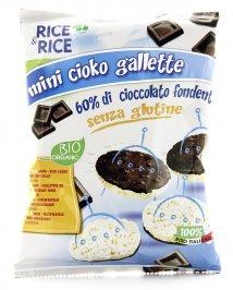 Rice & Rice - Mini Cioko Gallette - Cioccolato Fondente